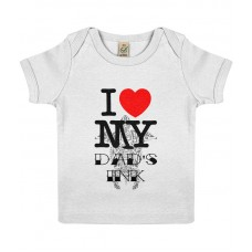 I love My Dad's Ink Baby Lap T-shirt
