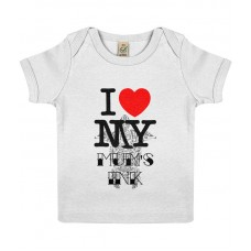 I love My Mum's Ink Baby Lap T-shirt