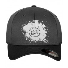 Off The Streets Embroidered Logo black fitted baseball cap
