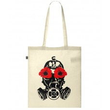 Poppy Mask Tote Bag
