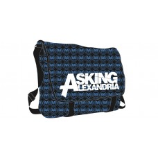 Asking Alexandria All Over Messenger Bag