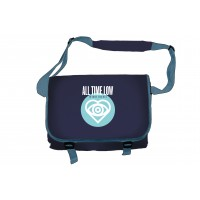 All Time Low Future Hearts Dark Blue Messenger Bag