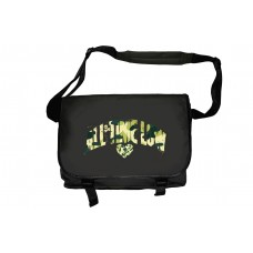All Time Low Big and Broken Black Messenger Bag