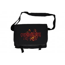 Cannibal Corpse Pile of Skulls Black Messenger Bag