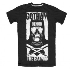 Batman vs Superman Gotham Demon Men's Black T-Shirt