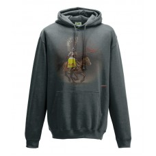 Husaria Charcoal College Hoodie