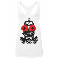 Poppy Mask Women's Low Cut Racer Back Vest