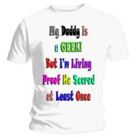 -Geek Daddy- Kids T-shirt