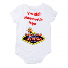 -I'm What Happened in Vegas- BabyGrow Onsie