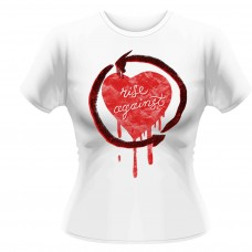 Rise Against Rough Heart White Fit T-Shirt